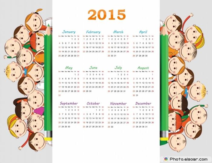 Calendar-2015-design-with-kids
