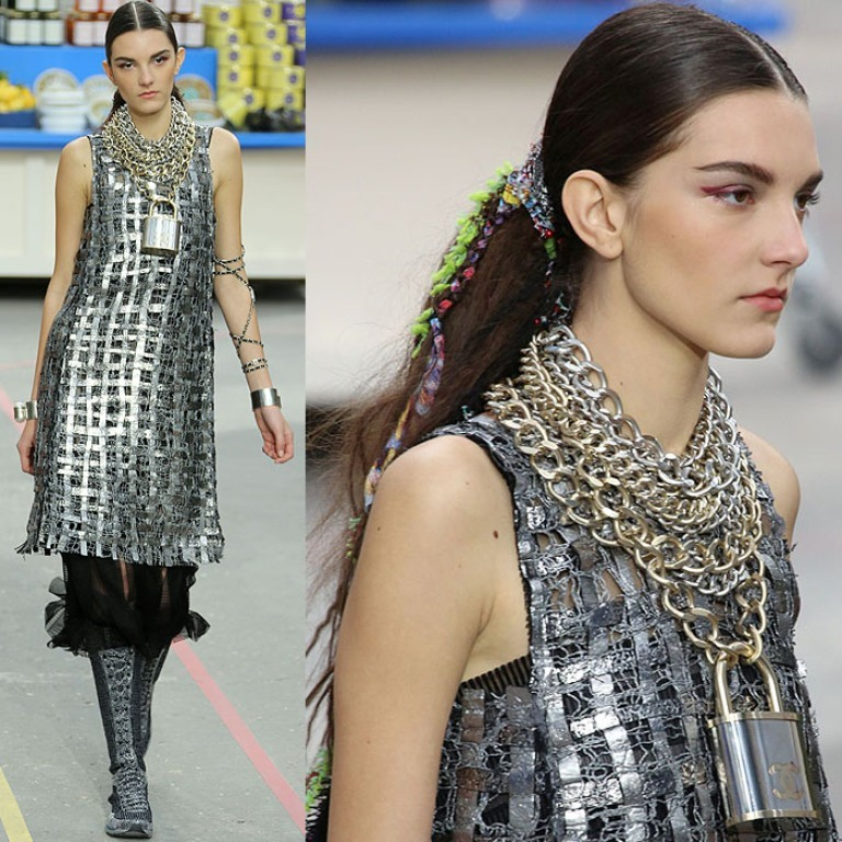 Chanel-Fall-2014-padlock-necklace