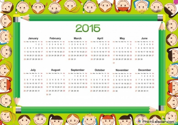 Cute-2015-Calendar-design-for-Kids-780x550