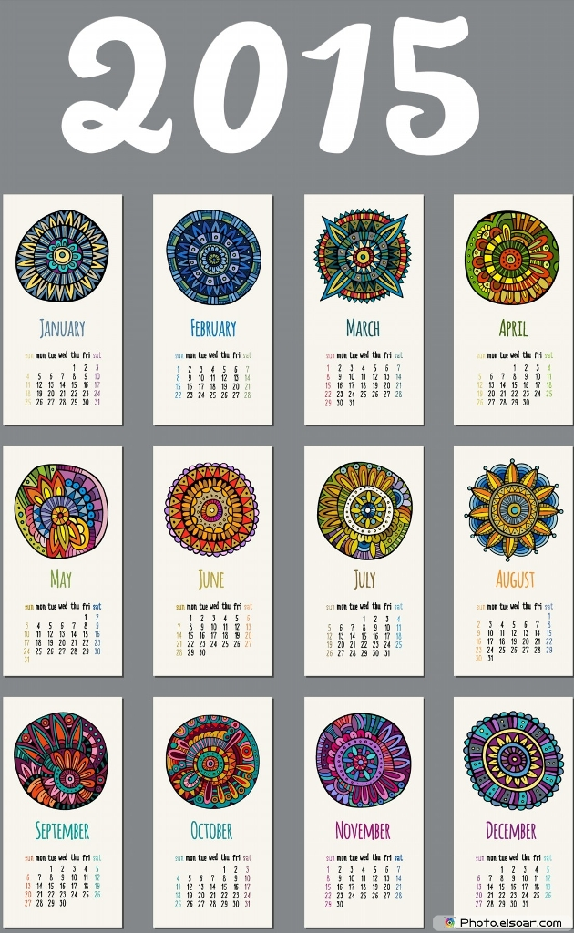 Printable-Design-For-Calendar-2015
