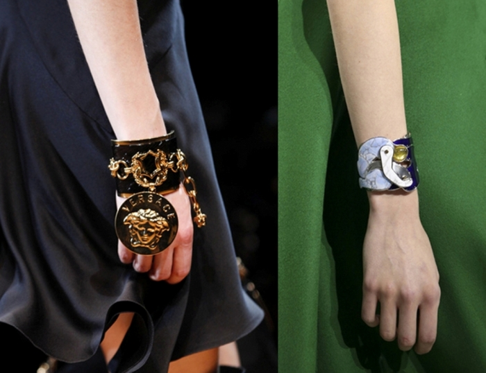 bold-cuff-bracelet-with-dangling-medallion-bracelets