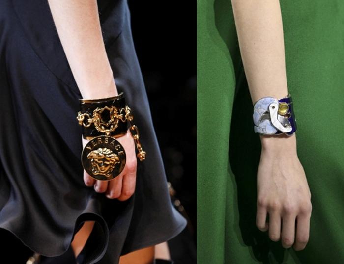 bold-cuff-bracelet-with-dangling-medallion-bracelets