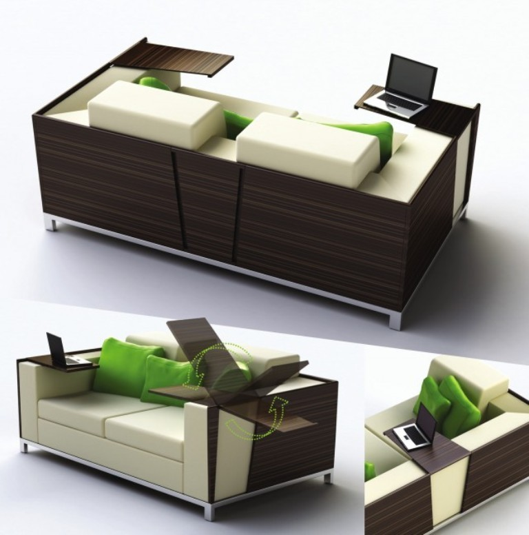 inspiration-furniture-wonderful-dark-plywood-couch-desk-office-with-cream-white-leather-double-seat-as-well-as-bookshelf-beside