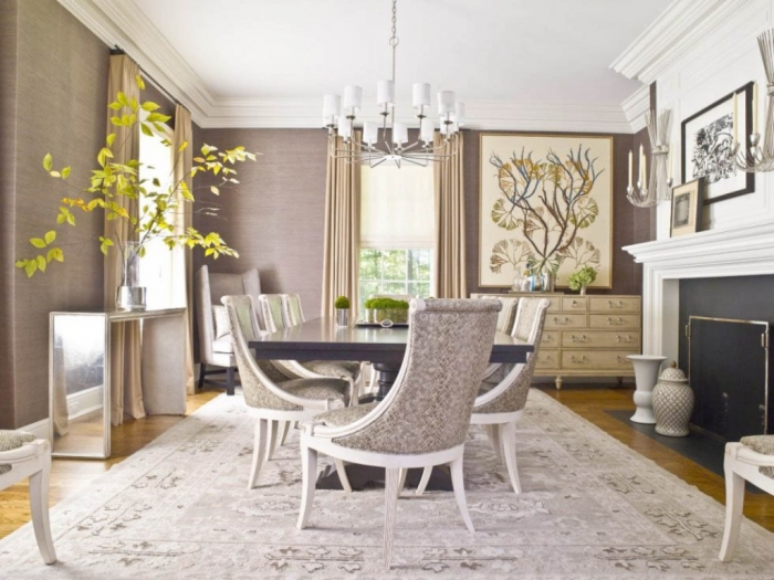 Top 10 hottest home decoration trends for 2015 topteny 2015 for Unique dining room ideas
