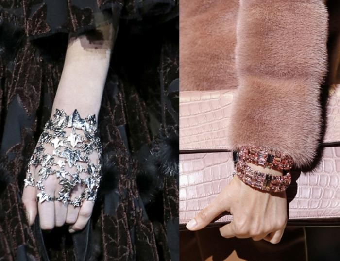silver-leaf-hand-bracelet-and-cuff-bracelets