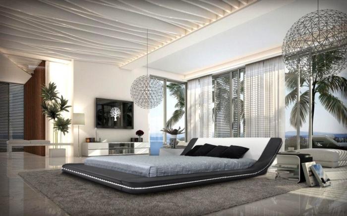 stylish-idea-for-retro-bedroom-design-with-stylish-arrangement