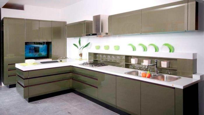 Affordable-Modern-Kitchen-Cabinets