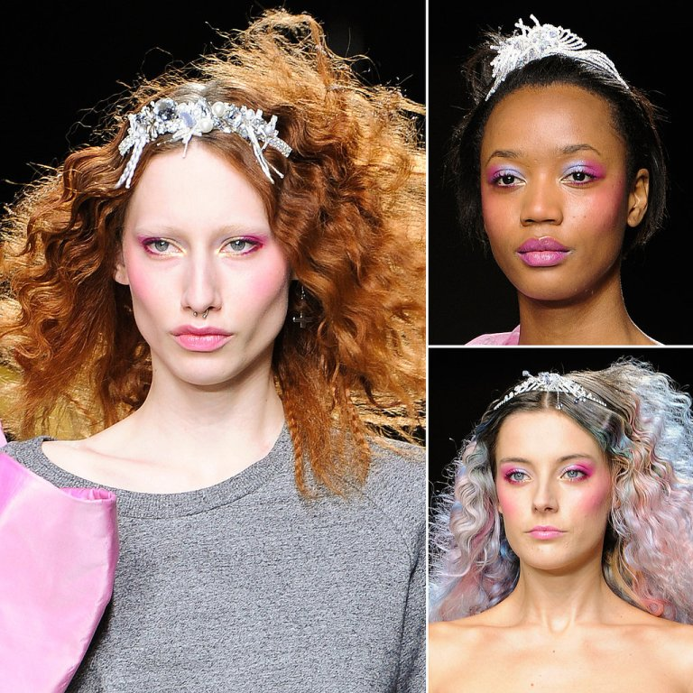 Ashish-AutumnWinter-2014-Beauty-Runway-Pictures