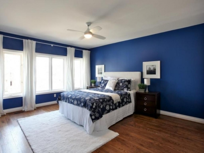 Awesome-Navy-Blue-And-White-Bedroom
