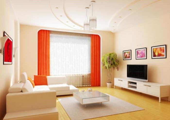 Ceiling-design-in-living-room