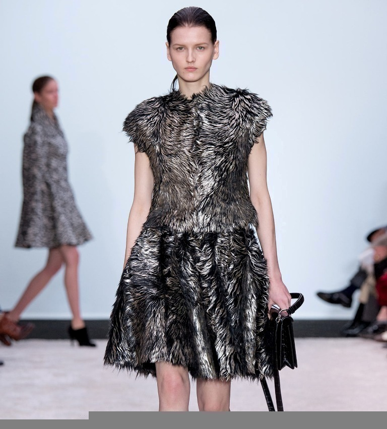 Fur-Dresses-For-Autumn-Winter-2014-2015-1