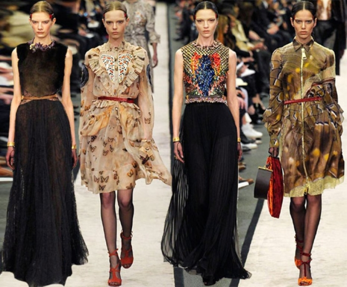 Givenchy_fall_winter_2014_2015_collection_Paris_Fashion_Week1
