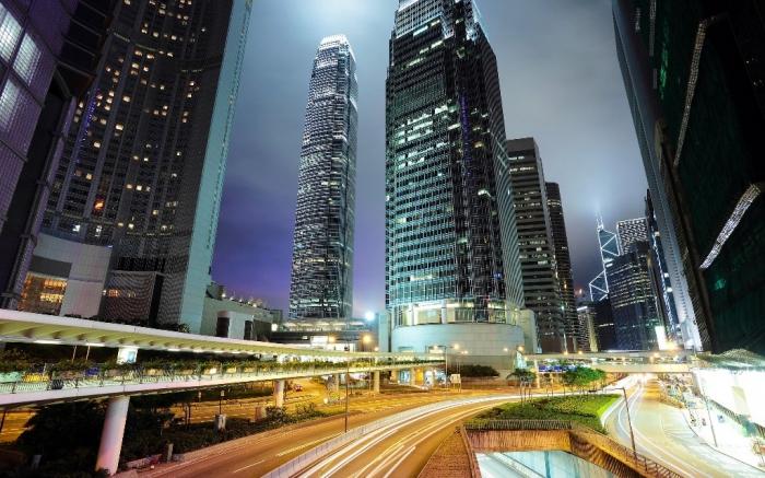 Hong-Kong-Skyscrapers