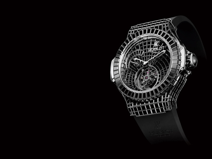Most-Expensive-Hublot-Watches-TOP-10-N2.-Hublot-Million-Dollar-Black-Caviar-Bang-–-1-million