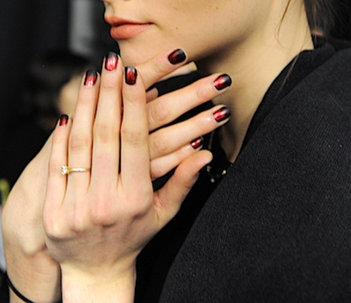 Nicoel-Miller-nails-butter-London-NYFW