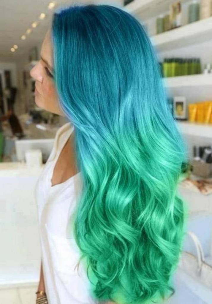 Ombre-hairstyles-2014-2015-in-blue-and-green-color