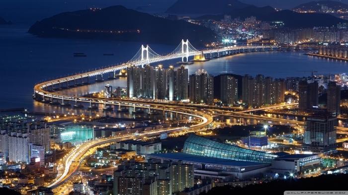 South Korea gwangan-bridge-busan-south-korea_00435343