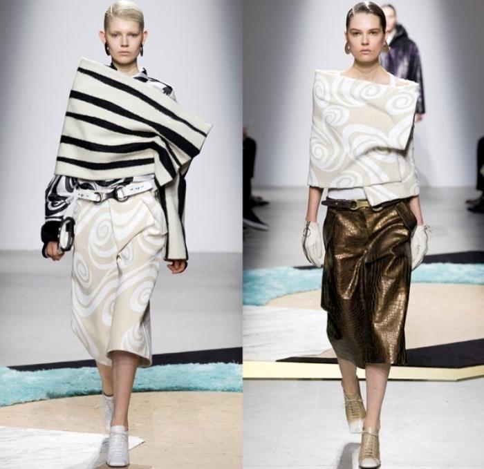 acne-studios-sweden-2014-2015-fall-autumn-winter-paris-pret-a-porter-fashion-womens-runway-cargo-pockets-culottes-wrap-swirls-zebra-anorak-sweaterdress-07x