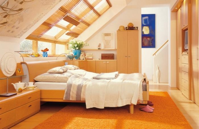 bedroom-best-decoration-contemporary-bedroom-natural-light-sloping-ceiling-slanted-ceiling-bedroom-lighting-design-ideas