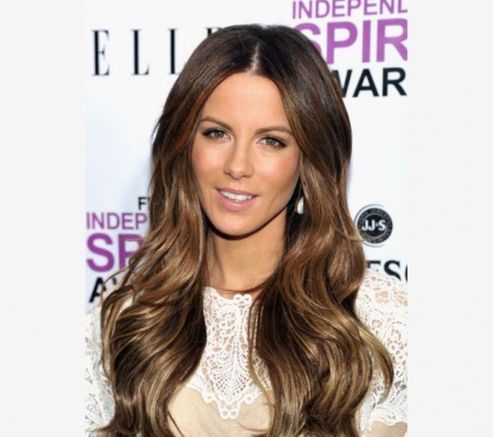 bronzed brunette