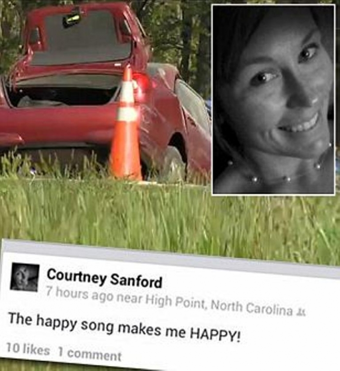 courtney-sandford-selfie-dead-trend-junky the happy song that brought sadness
