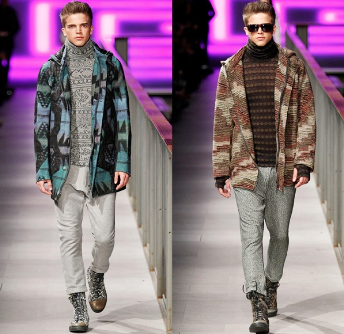 custo-barcelona-080-spain-espana-2014-2015-fall-autumn-winter-fashion-mens-runway-tribal-ornamental-prints-parka-coat-turtleneck-stripes-knit-zebra-wool-01x