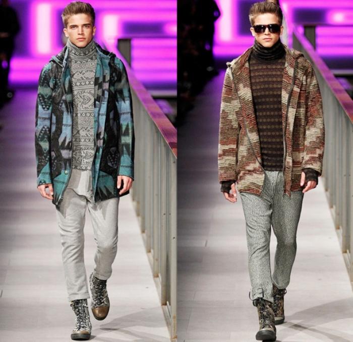 custo-barcelona-080-spain-espana-2014-2015-fall-autumn-winter-fashion-mens-runway-tribal-ornamental-prints-parka-coat-turtleneck-stripes-knit-zebra-wool-01x