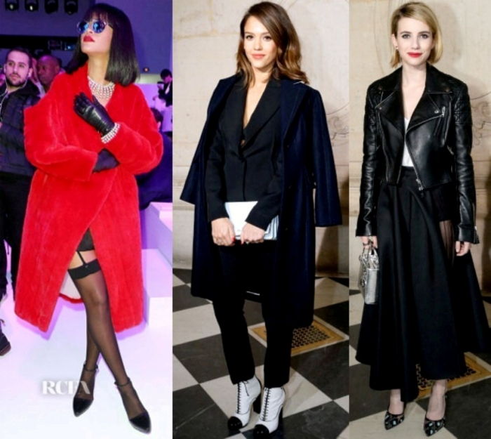 dior-front-row-Christian-Dior-Fall-2014-Front-Row