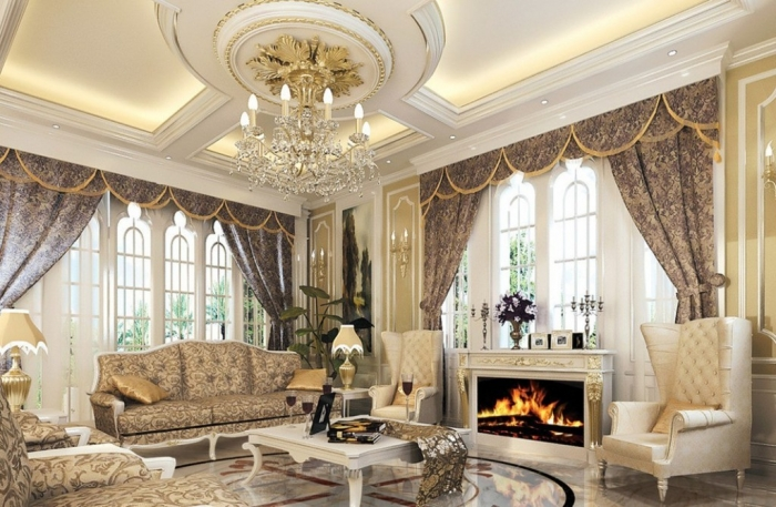 luxury-European-style-living-room-with-best-ceiling-and-fireplace-1024x669