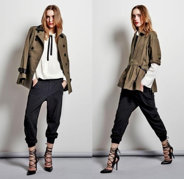 marissa-webb-2014-pre-fall-autumn-fashion-womens-looks-sweatpants-jogging-blazer-lace-chiffon-sheer-peekaboo-plaid-peacoat-sweater-skirt-white-02x