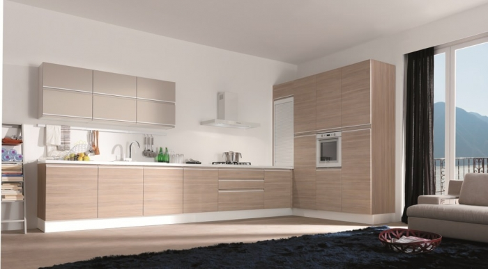 matte Modern-Kitchen-Cabinet-Colors