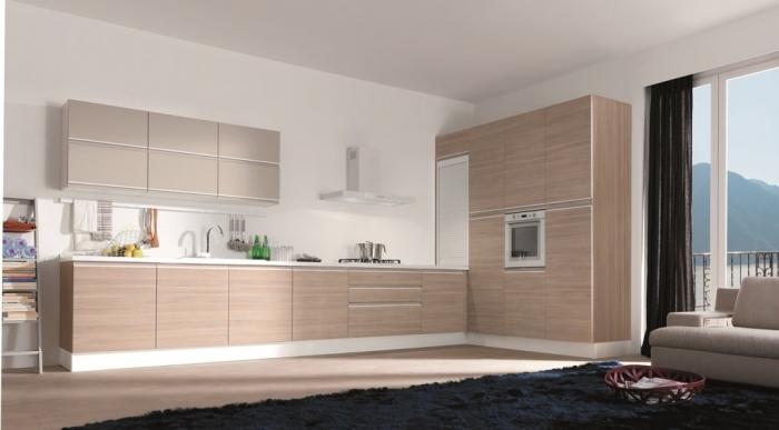 matte Modern-Kitchen-Cabinet-Colors