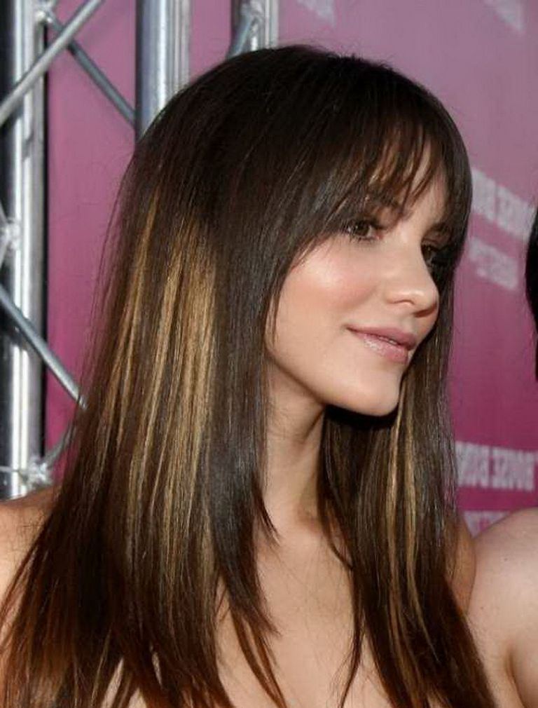 Attractive Women Haircuts 2016 With Bangs
