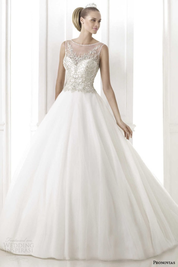 pronovias-2015-pre-bohemio-sleeveless-ball-gown-wedding-dress-embroidered-bodice