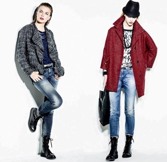 sisley-2014-2015-fall-autumn-winter-fashion-women-denim-jeans-bomber-jacket-ombre-knit-culottes-blazer-flowers-leopard-midi-skirt-lace-ruffles-dress-02x