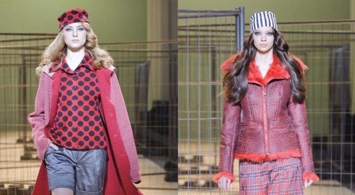 zalevskiy-2014-2015-fall-autumn-winter-fashion-womens-ukrainian-kiev-kyiv-plaid-prison-stripes-dots-coat-leather-ruffles-frayed-lace-knit-waves-gown-01x