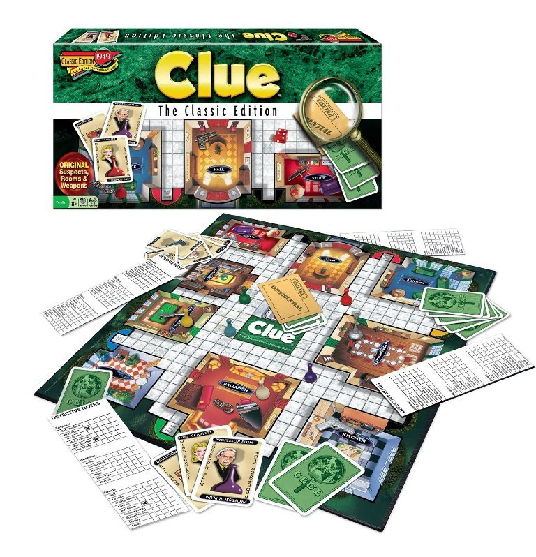 Clue The Classic Edition.