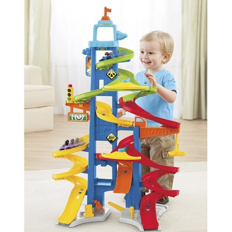 Fisher-Price Little People City Skyway Playset