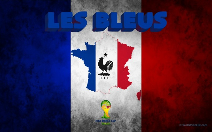 France Les-Bleus-Football-Crest-France-2014-World-Cup-Wallpaper