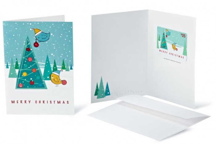 Gift Cards - In a Greeting Card
