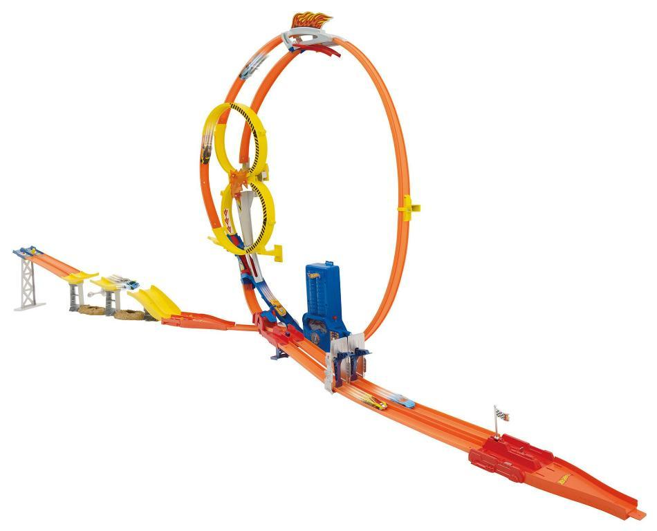 Hot Wheels Super Loop Chase Race Trackset.
