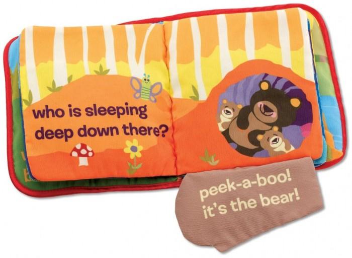 Lamaze Cloth Book, Peek-A-Boo Forest
