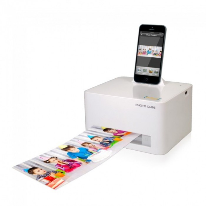 Photo Cube Portable Printer.
