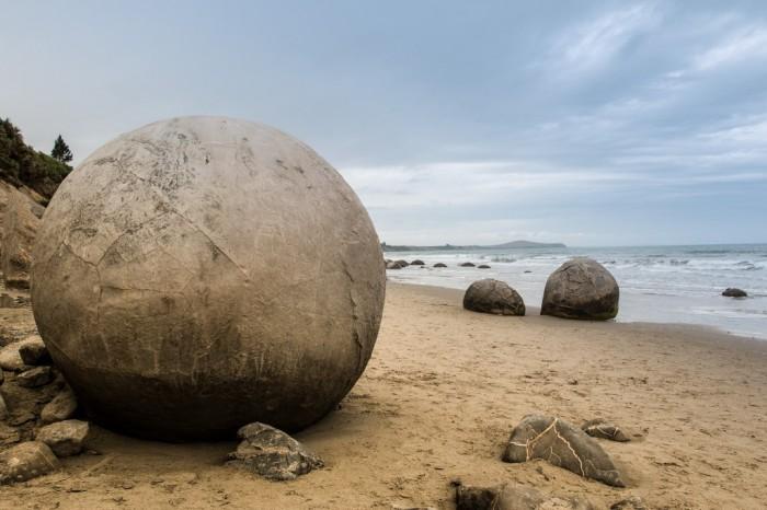 Spherical Boulders, New Zealand