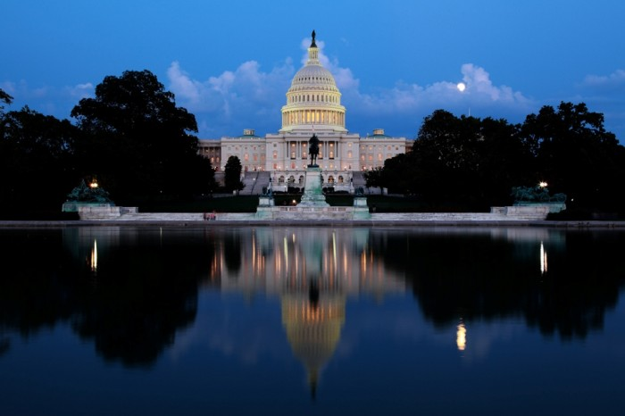 The-Capitol-at-night-Washington-II