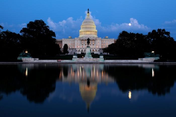 The-Capitol-at-night-Washington-II