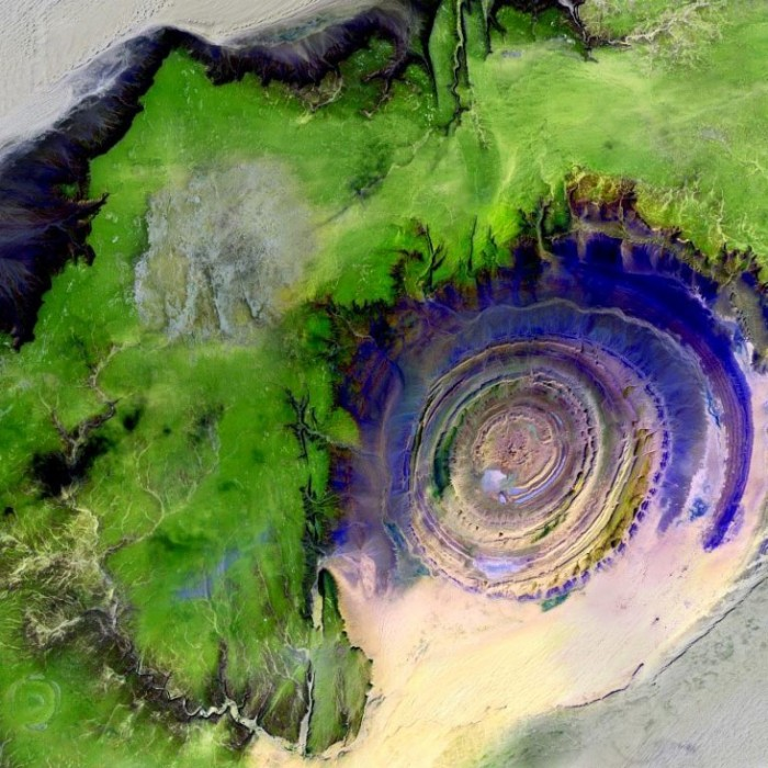 The Eye of Africa, Mauritania