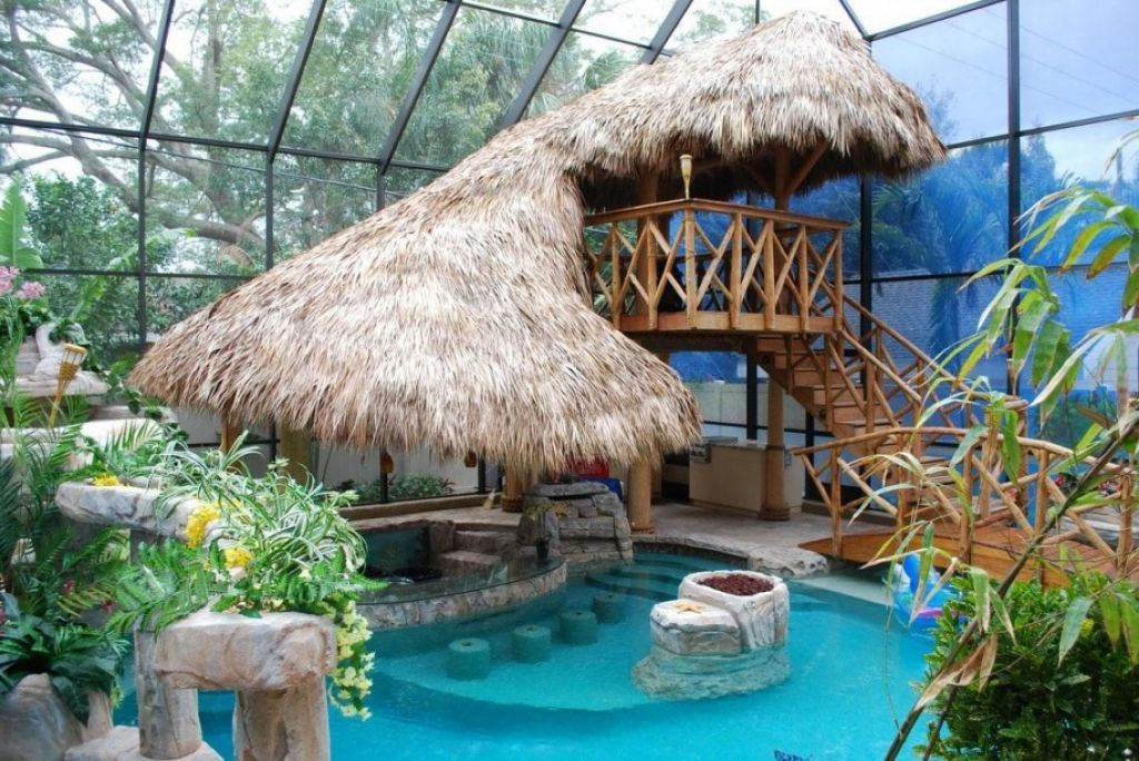 amusing-backyard-swimming-pool-with-unique-decor