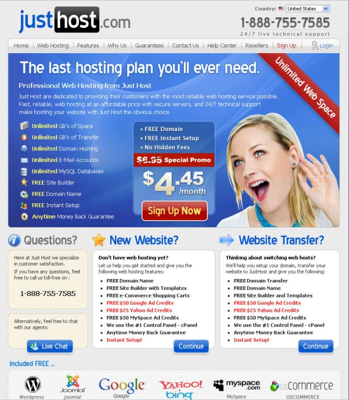 Top 10 Best Hosting Websites 2015