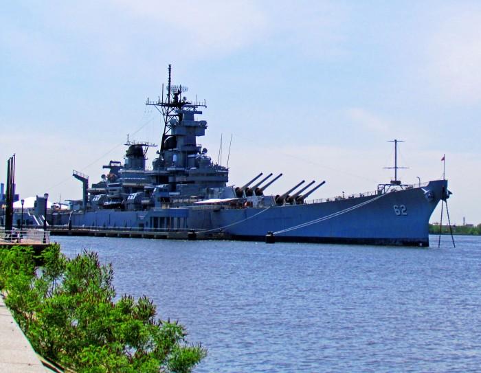 Battleship-New-Jersey-Museum-Memorial-On-The-Camden-Waterfront